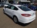 2013 Oxford White Ford Fusion S  photo #6
