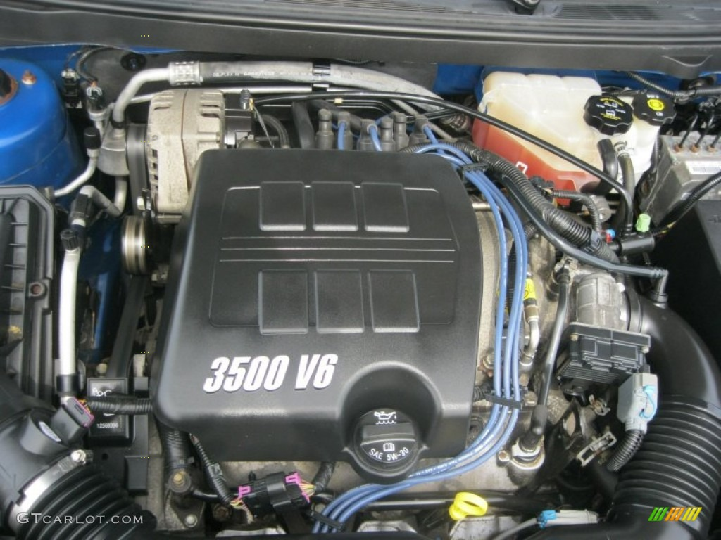 2005 Pontiac G6 Gt Sedan 3 5 Liter 3500 V6 Engine Photo