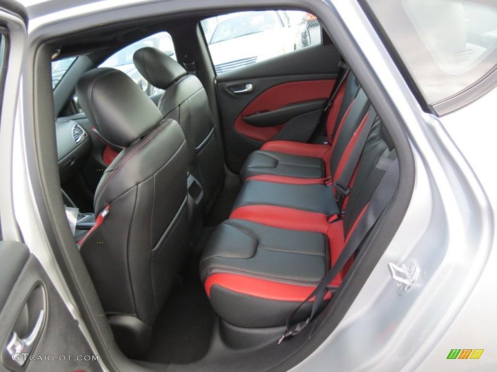 Black Ruby Red Interior 2013 Dodge Dart Gt Photo 85025884