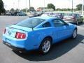 2011 Grabber Blue Ford Mustang V6 Coupe  photo #6