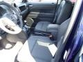 Freedom Edition Dark Slate Gray/Silver Stitching 2014 Jeep Patriot Interiors
