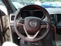 Summit Grand Canyon Jeep Brown Natura Leather Steering Wheel Photo for 2014 Jeep Grand Cherokee #85037962