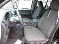 2013 Nissan Xterra Pro-4X Gray/Steel Interior Front Seat Photo