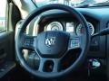 Black/Diesel Gray Steering Wheel Photo for 2014 Ram 1500 #85044574