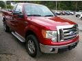 Front 3/4 View of 2010 F150 XLT Regular Cab 4x4