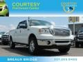 Oxford White 2007 Ford F150 Lariat SuperCrew 4x4