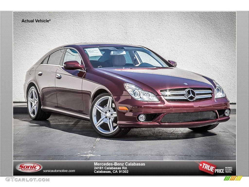 2010 Barolo Red Metallic Mercedes Benz Cls 550 85023990