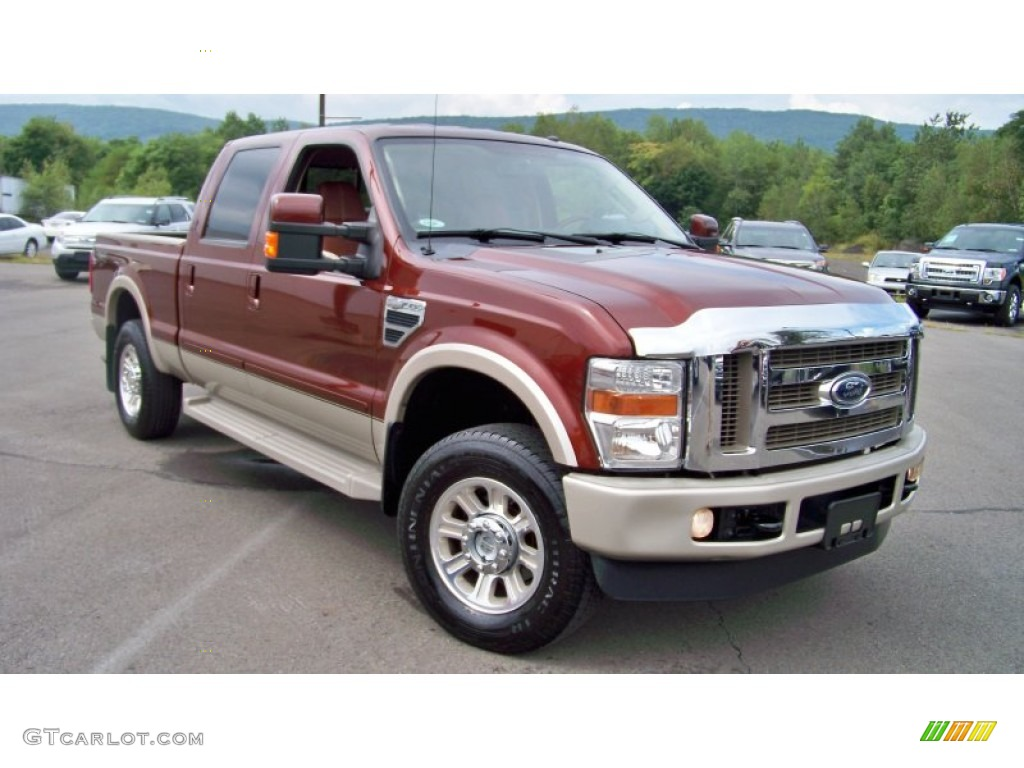2008 ford f250 super duty king ranch crew cab 4x4 exterior photos. Black Bedroom Furniture Sets. Home Design Ideas