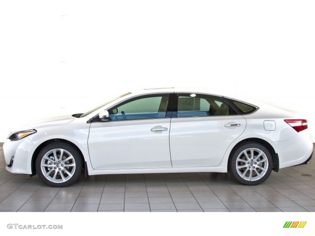 Blizzard White Pearl 2013 Toyota Avalon Limited Exterior ...