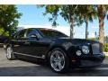 Black Crystal Metallic 2011 Bentley Mulsanne Sedan