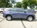 2014 Twilight Blue Metallic Honda CR-V LX AWD  photo #2