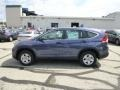 2014 Twilight Blue Metallic Honda CR-V LX AWD  photo #6