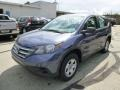 2014 Twilight Blue Metallic Honda CR-V LX AWD  photo #7