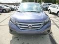 2014 Twilight Blue Metallic Honda CR-V LX AWD  photo #8