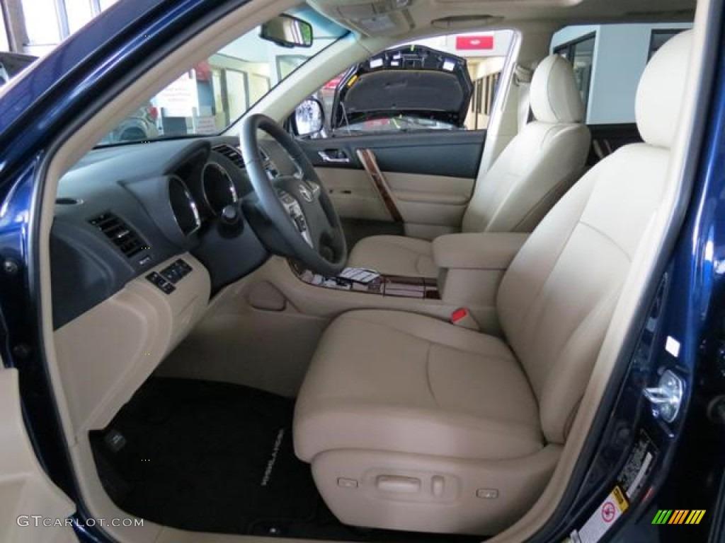 2013 toyota highlander limited interior color photos