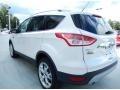 2014 White Platinum Ford Escape Titanium 1.6L EcoBoost  photo #3