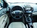 2014 White Platinum Ford Escape Titanium 1.6L EcoBoost  photo #8
