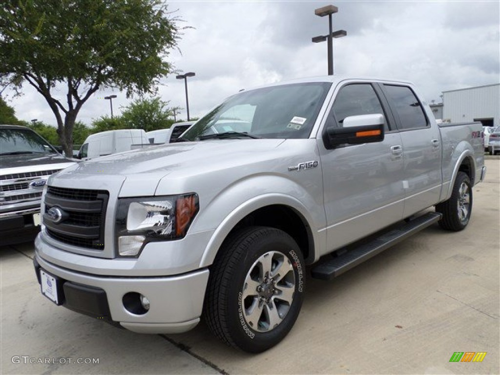 2013 ingot silver metallic ford f150 fx2 supercrew 85066385 photo 8 car color. Black Bedroom Furniture Sets. Home Design Ideas