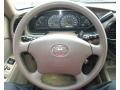 2003 Toyota Tundra Oak Interior Steering Wheel Photo