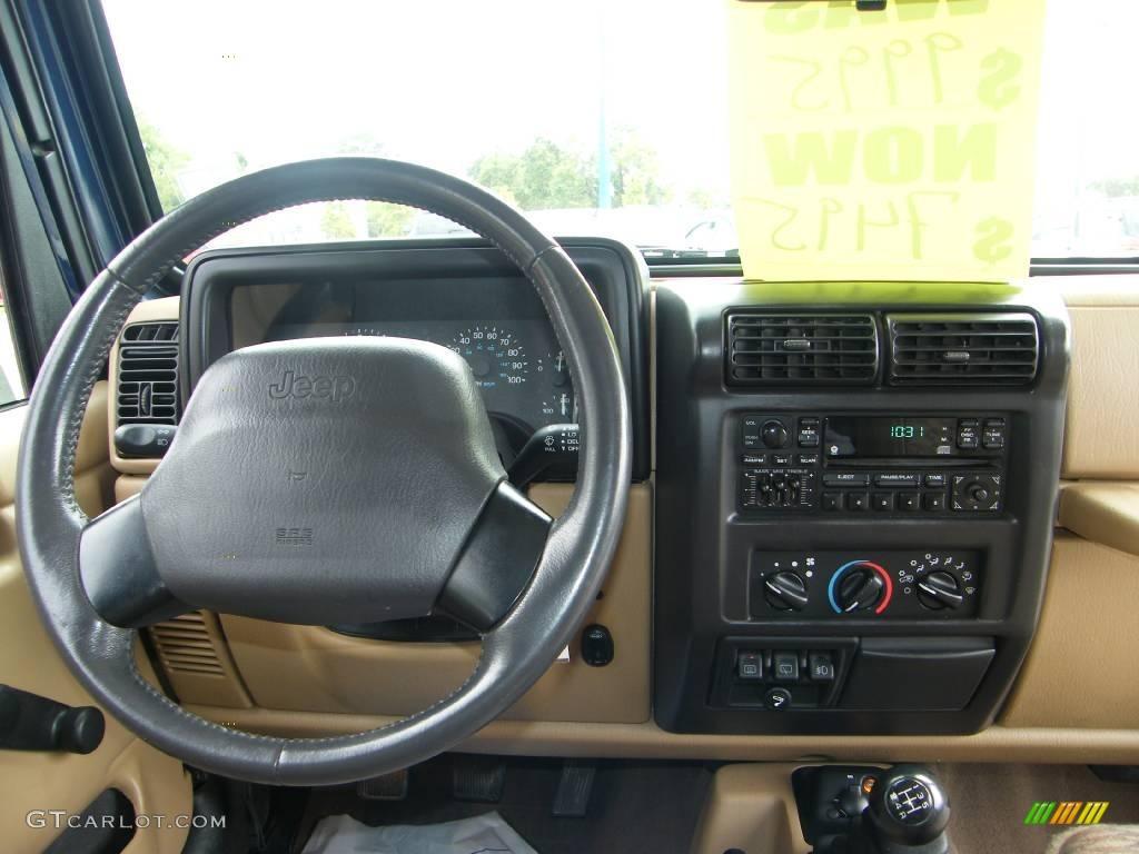 2000 Patriot Blue Pearl Jeep Wrangler Sport 4x4 8488102 Photo 18 Car Color
