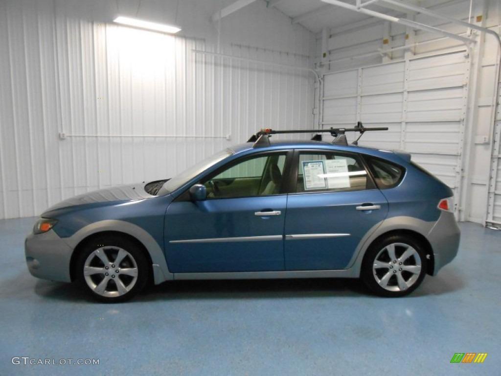 2010 newport blue pearl subaru impreza outback sport wagon 85119773 car color. Black Bedroom Furniture Sets. Home Design Ideas
