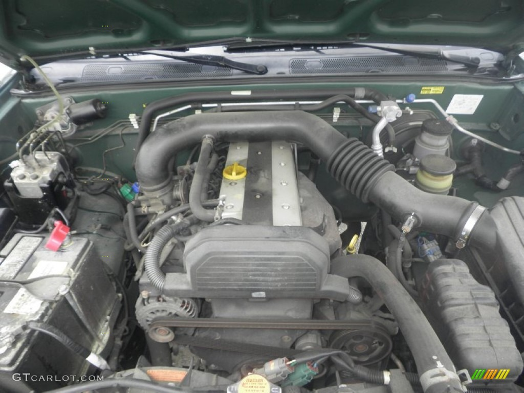 2002 isuzu rodeo s 2 2 liter dohc 16 valve 4 cylinder engine photo 85131461 gtcarlot com