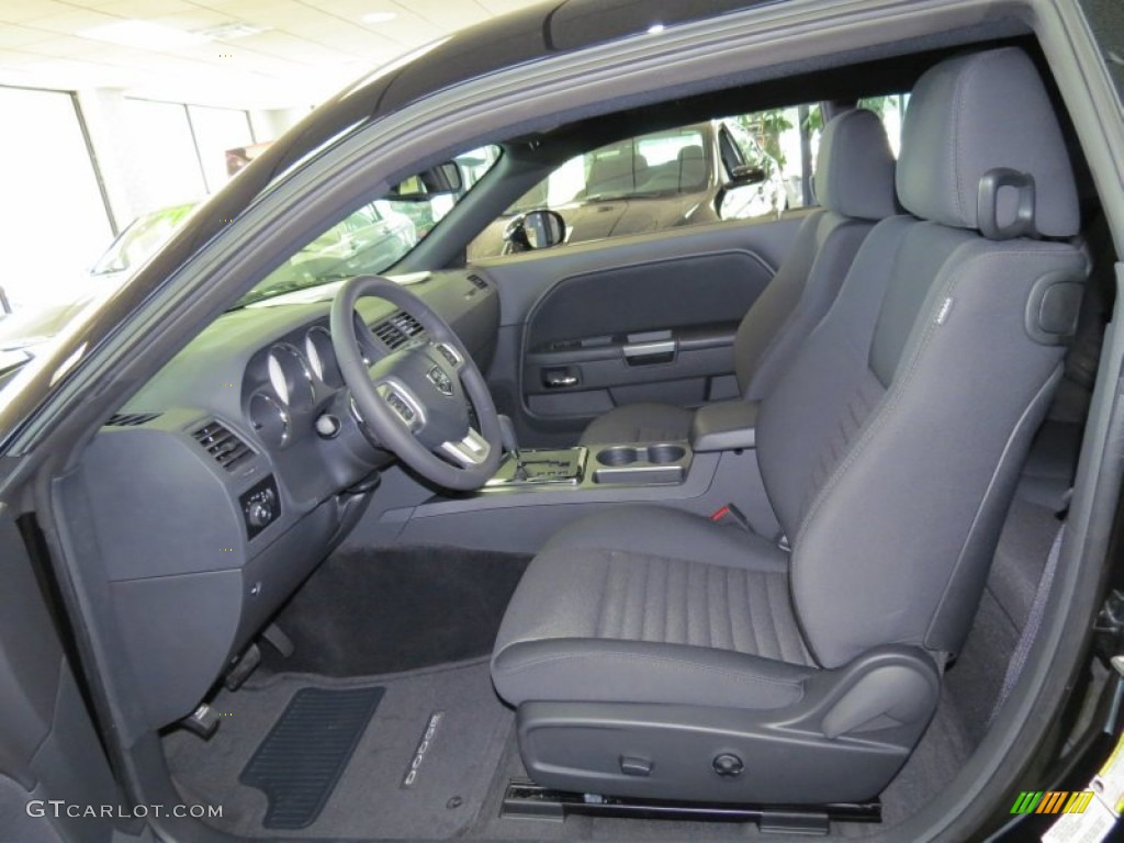 Dark Slate Gray Interior 2014 Dodge Challenger R/T ...  Dark Slate Gray...