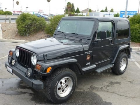 1997 jeep wrangler sahara 4x4 data info and specs. Black Bedroom Furniture Sets. Home Design Ideas