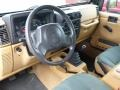 Tan 1997 Jeep Wrangler Interiors