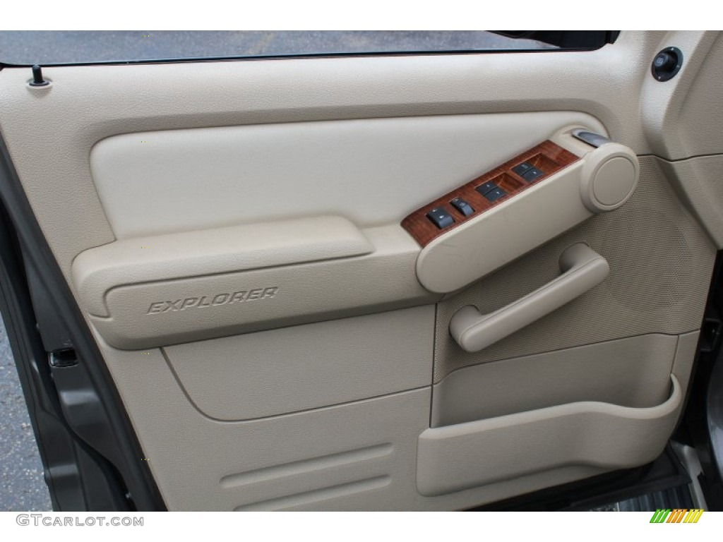 2006 ford explorer eddie bauer 4x4 camel door panel photo. Black Bedroom Furniture Sets. Home Design Ideas