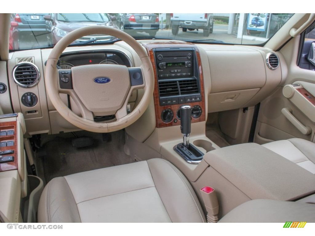 camel interior 2006 ford explorer eddie bauer 4x4 photo 85138477