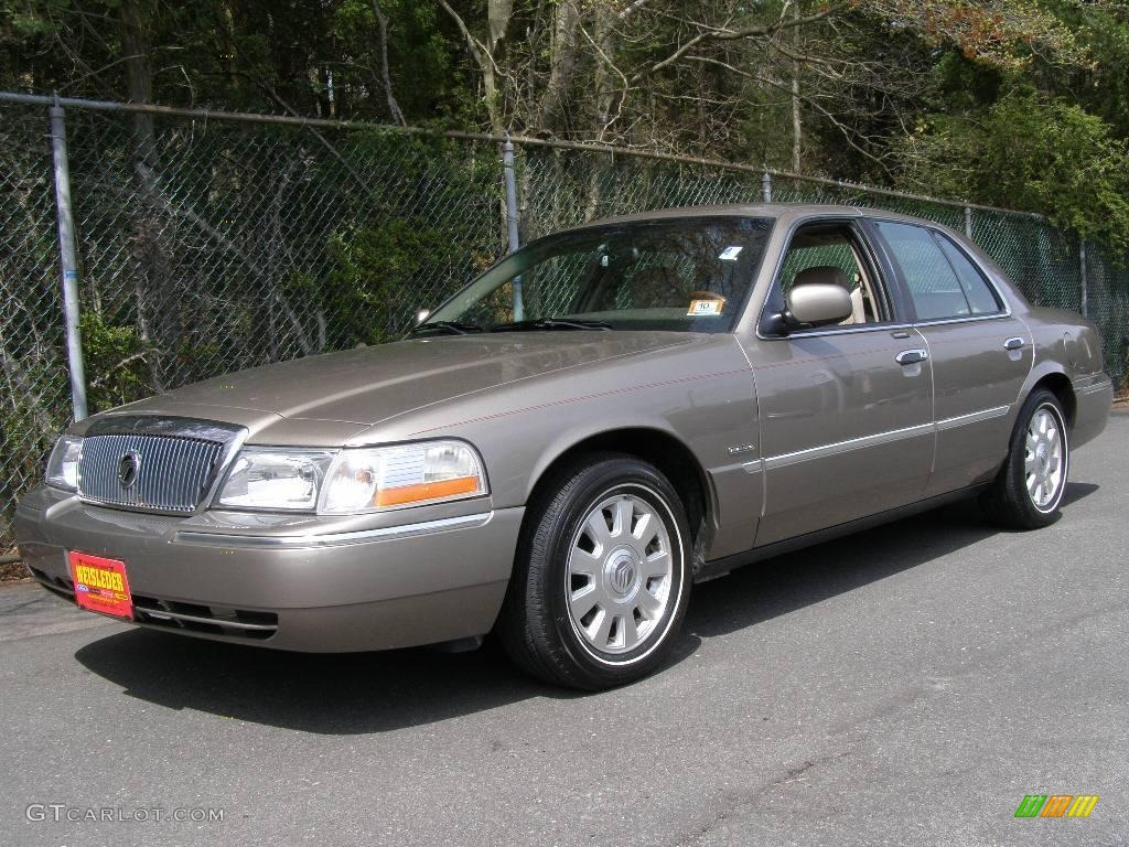 2003 arizona beige metallic mercury grand marquis ls 8492642 car color galleries. Black Bedroom Furniture Sets. Home Design Ideas