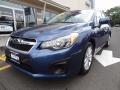 Marine Blue Pearl 2012 Subaru Impreza 2.0i Premium 4 Door