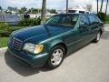 Brilliant Emerald Green Metallic 1997 Mercedes-Benz S 420 Sedan