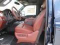 2014 Ford F250 Super Duty King Ranch Chaparral Leather/Black Trim Interior Interior Photo