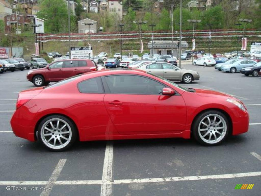 2008 Code Red Metallic Nissan Altima 3 5 Se Coupe 8498064