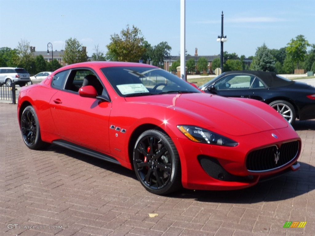 Rosso Mondiale Red 2014 Maserati Granturismo Sport Coupe Exterior Photo 85177508
