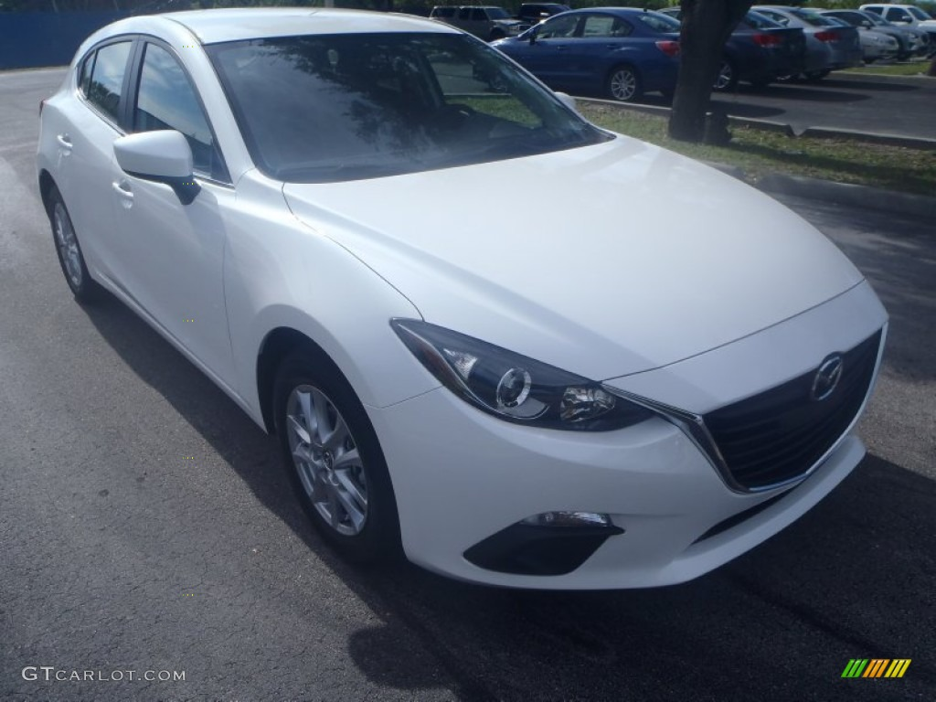 2014 snowflake white pearl mazda mazda3 i touring 5 door. Black Bedroom Furniture Sets. Home Design Ideas