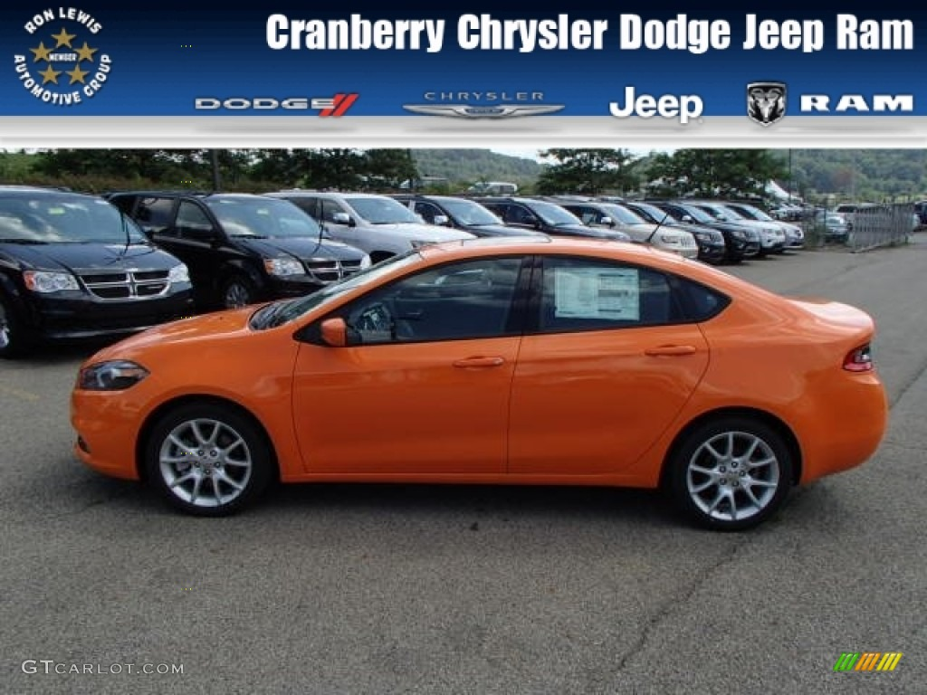2013 header orange dodge dart sxt 85184421. Black Bedroom Furniture Sets. Home Design Ideas