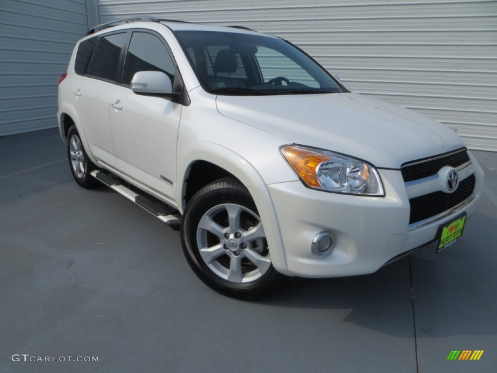 2012 blizzard white pearl toyota rav4 limited 85184608. Black Bedroom Furniture Sets. Home Design Ideas