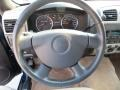 2008 GMC Canyon Light Tan Interior Steering Wheel Photo