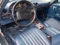 1989 SL Class 560 SL Roadster Blue Interior