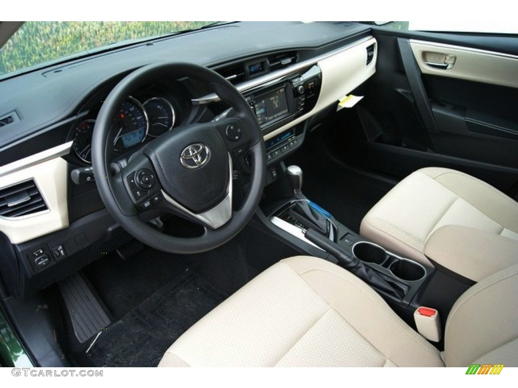 2014 Toyota Corolla Red Interior The Image Kid Has It