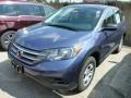 2013 Twilight Blue Metallic Honda CR-V LX AWD  photo #6