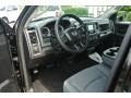 Black/Diesel Gray Prime Interior Photo for 2014 Ram 1500 #85256016
