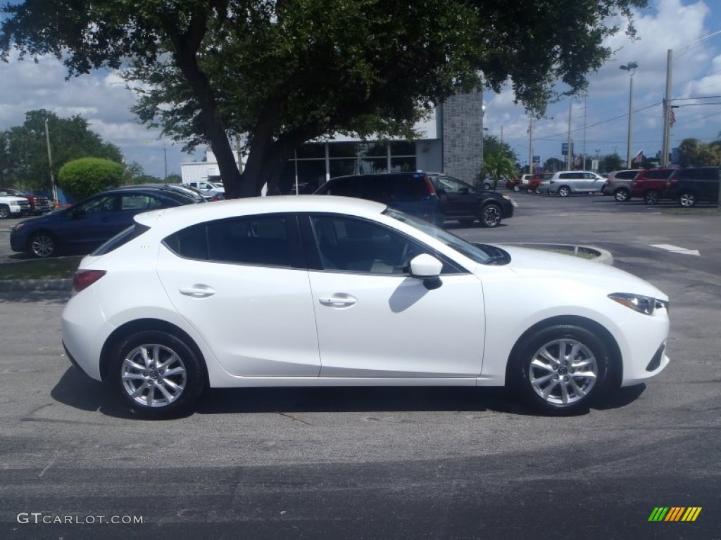 snowflake white pearl 2014 mazda mazda3 i touring 5 door. Black Bedroom Furniture Sets. Home Design Ideas