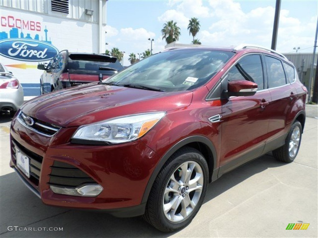 2014 Escape Titanium 1.6L EcoBoost - Sunset / Medium Light Stone photo #1