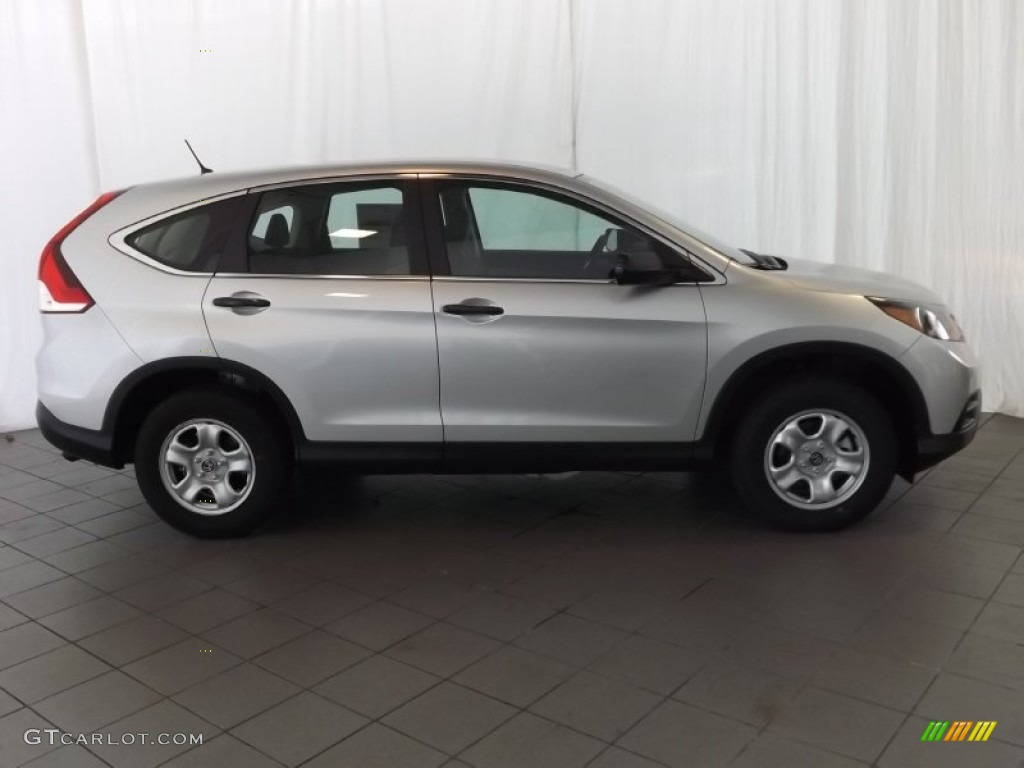 2014 CR-V LX - Alabaster Silver Metallic / Gray photo #5