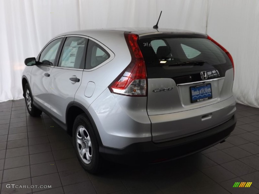 2014 CR-V LX - Alabaster Silver Metallic / Gray photo #6
