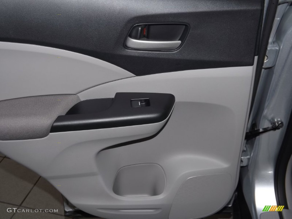 2014 CR-V LX - Alabaster Silver Metallic / Gray photo #24